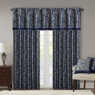 curtains for living room window. Madison Park Whitman Curtain Panel Pair Curtains  Drapes For Less Overstock com