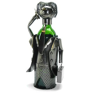 Wine Bottle Holder Businessman Wine Caddy