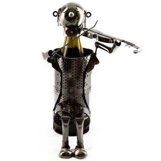 Wine Bottle Holder Violinist Wine Caddy
