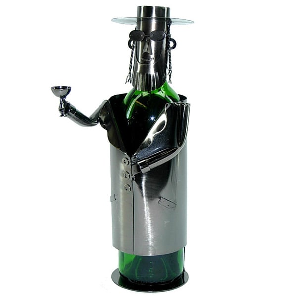 Wine Bottle Holder Rabbi Wine Caddy