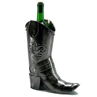 Wine Bottle Holder Cowboy Boot Wine Caddy