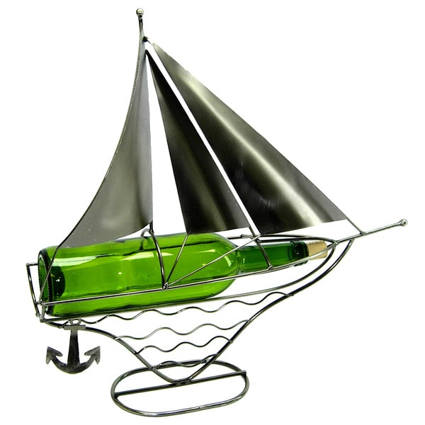 Wine Bottle Holder Sailboat Caddy