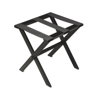 Handmade Dramatic Black Luggage Rack (China)