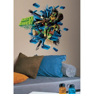 Shop Teenage Mutant Ninja Turtles Brick Poster Peel And