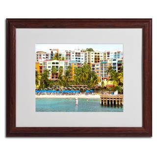 CATeyes 'Virgin Islands 8' Framed Matted Art