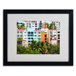 CATeyes 'Virgin Islands 2' Framed Matted Art