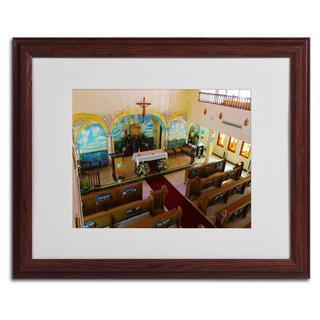 CATeyes 'Virgin Islands' Framed Matted Giclee Art