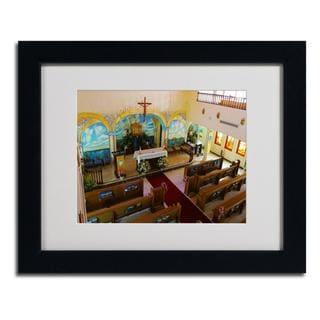 CATeyes 'Virgin Islands' Framed Matted Art
