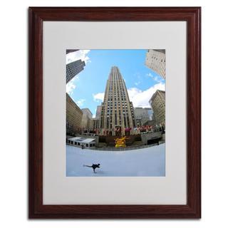 CATeyes 'Rockefeller Center' Framed Matted Art