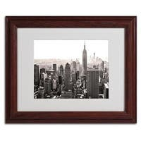 CATeyes 'Manhattan' Framed Matted Art