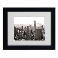 CATeyes 'Manhattan' Framed Matted Giclee Art