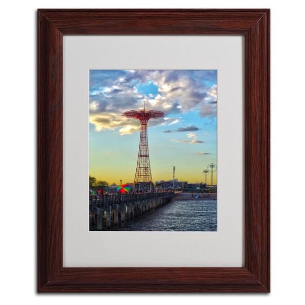 CATeyes 'Coney Island' Framed Matted Art