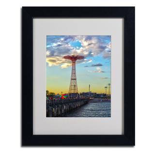 CATeyes 'Coney Island' Framed Matted Wall Art