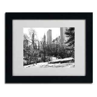 CATeyes 'Central Park' Framed Matted Art