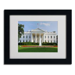 CATeyes 'White House' Framed Matted Giclee Art Print