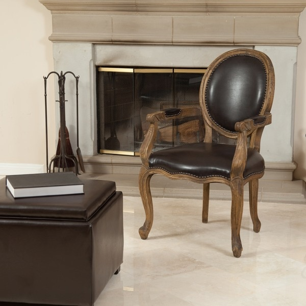 Shop Christopher Knight Home Jacob Brown Bonded Leather