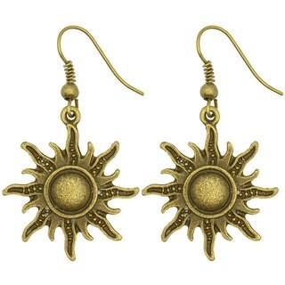 Kate Marie Fashion Earrings Sun Design