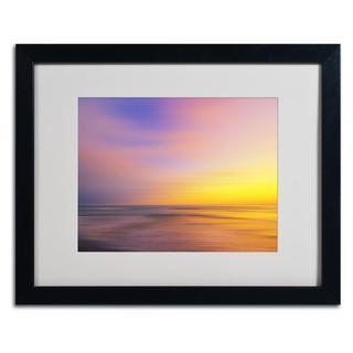 Philippe Sainte-Laudy 'Metallic Sunset' Framed Matted Art