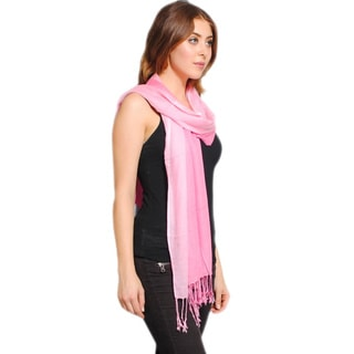 Classic Shaded Scarf with Tassels (India)
