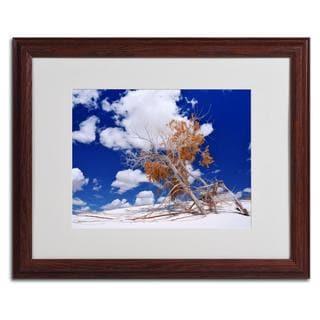Philippe Sainte-Laudy 'Burn Tree' Framed Matted Art