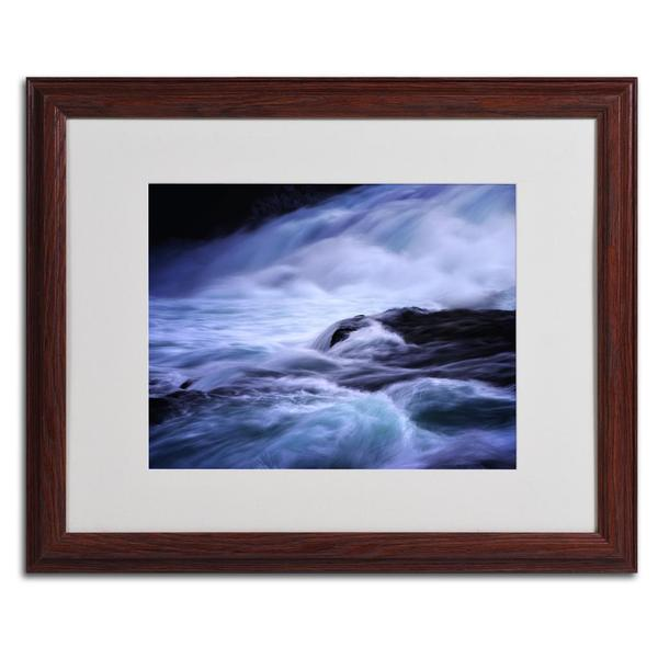 Philippe Sainte-Laudy 'Blue Stream' Framed Matted Art