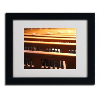 CATeyes 'Trinity Church 2' Framed Matted Art