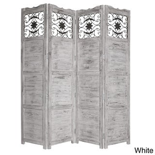 Salisbury 4-panel Wooden Screen (China)