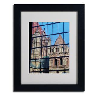 CATeyes 'Trinity Church Reflection' Framed Matted Art