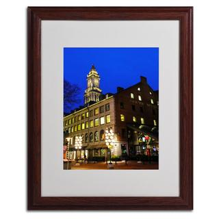 CATeyes 'Boston 3' Framed Matted Giclee Art