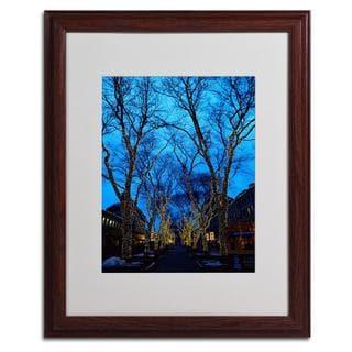 CATeyes 'Boston 2' Framed Matted Art