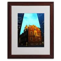 CATeyes 'Boston' Framed Matted Art