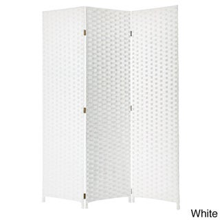Pensacola 3-panel Woven Wooden Screen (China)