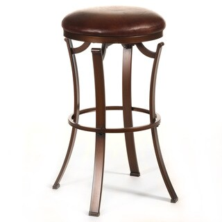Laurel Creek Kelford Backless Swivel Stool