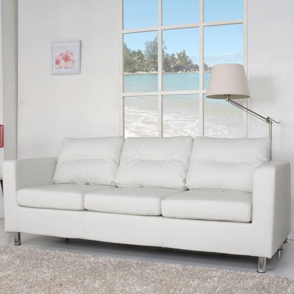 Detroit White Sofa