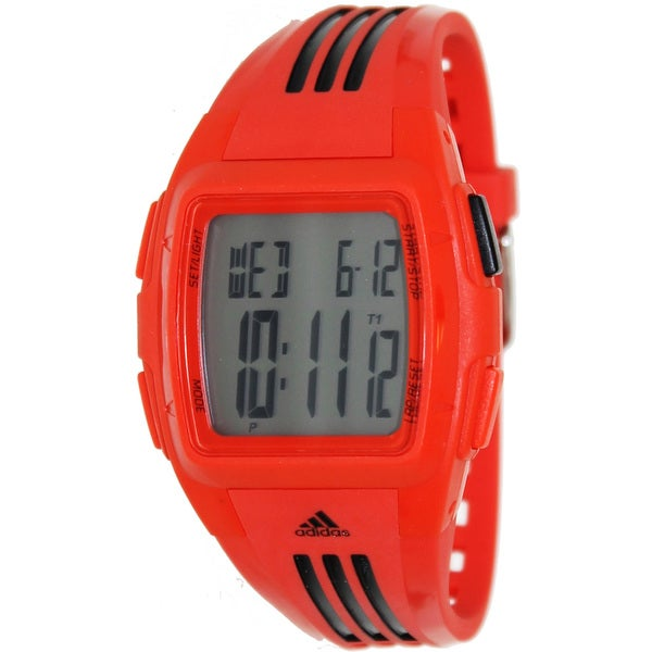 Shop Adidas Women s  Duramo  Red  Black Digital Watch - Free Shipping On  Orders Over  45 - Overstock.com - 8134786 64fbba3bf6