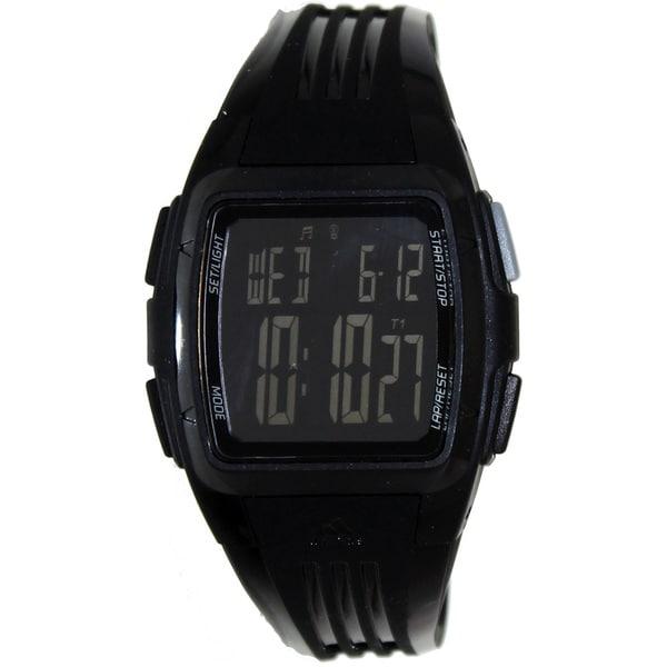 Adidas Women's 'Duramo' Black Digital Watch