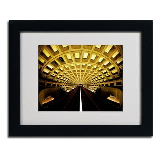 CATeyes 'Lines' Framed Matted Art