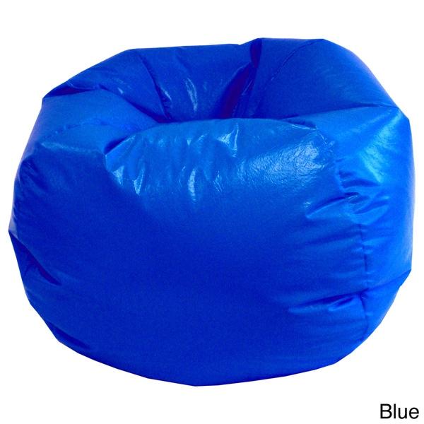 Small/ Toddler Wet Look Vinyl Bean Bag