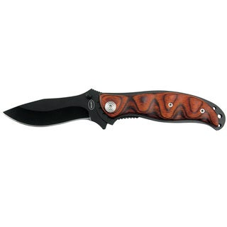 Frost Cutlery Red Desert III Tactical 4.5-inch Closed
