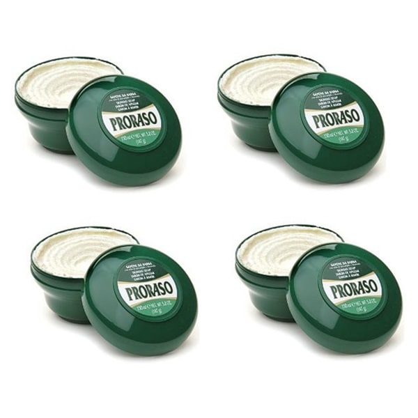 Proraso Sapone Eucalyptus & Menthol Shave Soap (Pack of 4)