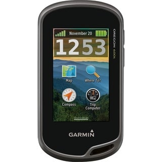 Garmin Oregon 650t Handheld GPS Navigator