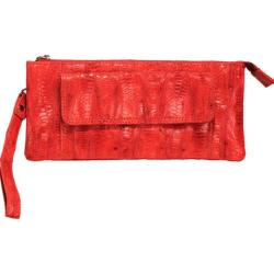 Women's Latico Millicent Clutch 5306 Red Leather