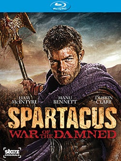 Spartacus: War of the Damned - Season 3 (Blu-ray Disc)