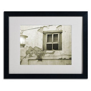 Miguel Paredes 'Window' Framed Matted Art