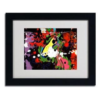 Miguel Paredes 'Fisheye' Framed Matted Art