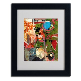 Miguel Paredes 'Urban Collage I' Framed Matted Art