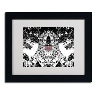 Miguel Paredes 'Heart I' Framed Matted Art