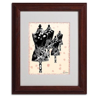 Miguel Paredes 'Tapestry I' Framed Matted Art
