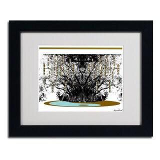 Miguel Paredes 'Budda' Framed Matted Art