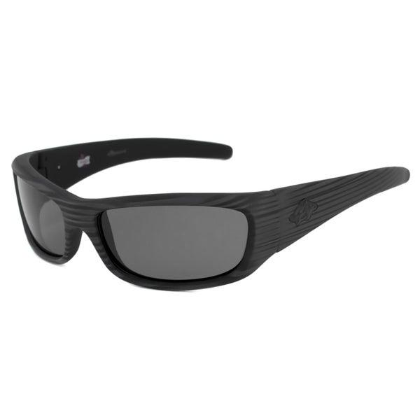 Anarchy Men's Blacken Polarized/ Wrap Sunglasses